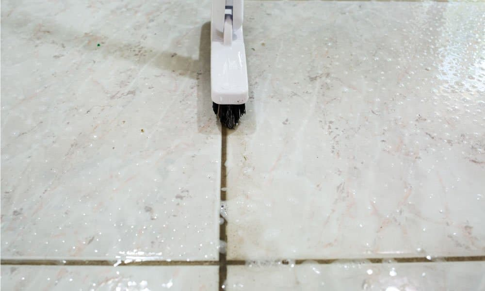 Brushing-The-Tile-Grout